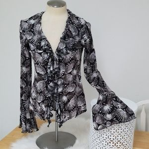 Isabela De Pedro ruffle blouse